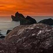 Patrick's Point Dusk Panorama Poster by Greg Nyquist