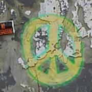 Peace No Trespassing Poster by Todd Sherlock
