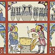Persian Pharmacy, 13th Century Artwork Poster by Sheila Terry