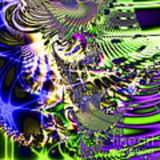 Phantasm . Square Poster by Wingsdomain Art and Photography