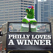 Philly Loves A Winner Poster by Alice Gipson