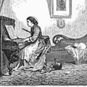 Pianist, 1876 Poster by Granger