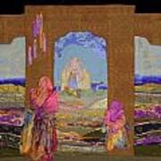 Pilgrimage Poster by Roberta Baker