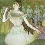 Pink Dancer  Poster by Edgar Degas