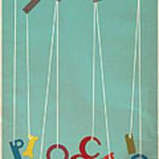 Pinocchio Poster by Megan Romo