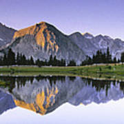 Pioneer Basin Morning Panorama Poster by Buck Forester