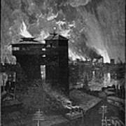 Pittsburgh: Blast Furnaces Poster by Granger