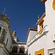 Plaza De Toros De La Real Maestranza - Seville Poster by Juergen Weiss