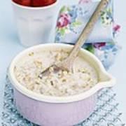 Porridge In A Pan Poster by Veronique Leplat