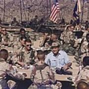 President George Bush Having Poster by Everett