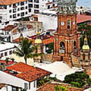 Puerto Vallarta Poster by Elena Elisseeva