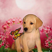 Puppy Innocence Poster by Smilin Eyes  Treasures