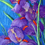 Purple Passion Poster by Tanja Ware