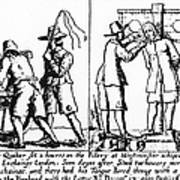 Quaker Persecution Poster by Granger