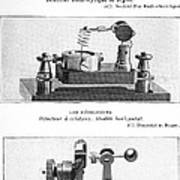 Radio Receiver Components, 1914 Poster by