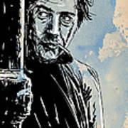 Ratso Rizzo Poster by Giuseppe Cristiano