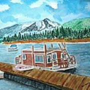 Redfish Lake Poster by Don L Williams
