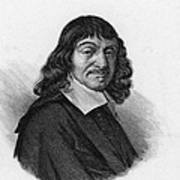 Rene Descartes, French Polymath Poster by Science Source