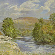 River Spey - Kinrara Poster by Tim Scott Bolton