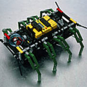 Robot Spider Constructed From Lego Poster by Volker Steger