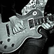 Rock On Poster by Kamil Swiatek