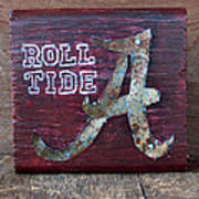 Roll Tide - Small Poster by Racquel Morgan