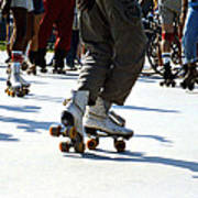 Roller Skates Poster by Emanuel Tanjala