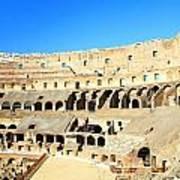 Rome Coliseum Poster by Valentino Visentini