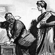 Roosevelt Cartoon, C1916 Poster by Granger