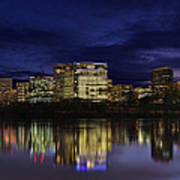 Rosslyn Skyline Poster by Metro DC Photography