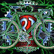 Rotrax Poster by Mark Howard Jones