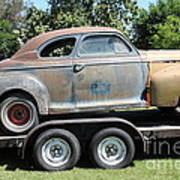 Rusty 1941 Chevrolet . 5d16210 Poster by Wingsdomain Art and Photography