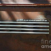 Rusty Old 1939 Chevrolet Master 85 . 5d16198 Poster by Wingsdomain Art and Photography