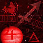 Sagittarius Poster by JP Rhea