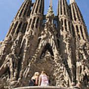 Sagrada Familia Church - Barcelona Spain Poster by Matthias Hauser