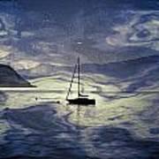 Sailing Boat Poster by Joana Kruse