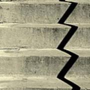 San Andreas Stairs Poster by Joe Jake Pratt