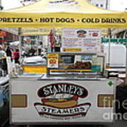 San Francisco - Stanley's Steamers Hot Dog Stand - 5d17929 Poster by Wingsdomain Art and Photography