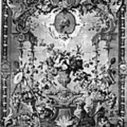 Savonnerie Panel C1800 Poster by Granger