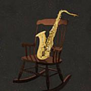 Sax Rocks Poster by Eric Kempson