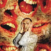Schizophrenia Poster by Tim Vernon, Lth Nhs Trust