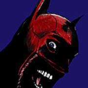 Screaming Superhero Poster by Giuseppe Cristiano