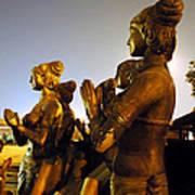 Sculpture Of Women Poster by Sumit Mehndiratta