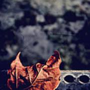 Season Of Fire Poster by Odd Jeppesen