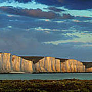 Seven Sisters Panorama Poster by Mark Leader