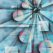 Shades Of Fibonacci Poster by Hakon Soreide