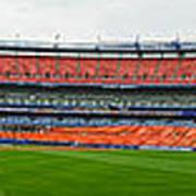 Shea Stadium Pano Poster by Dennis Clark