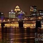 Sherman Minton Bridge Poster by Joe Finney