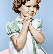 Shirley Temple, Ca. 1936 Poster by Everett