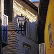 Siena Street Poster by Gordon Wood
